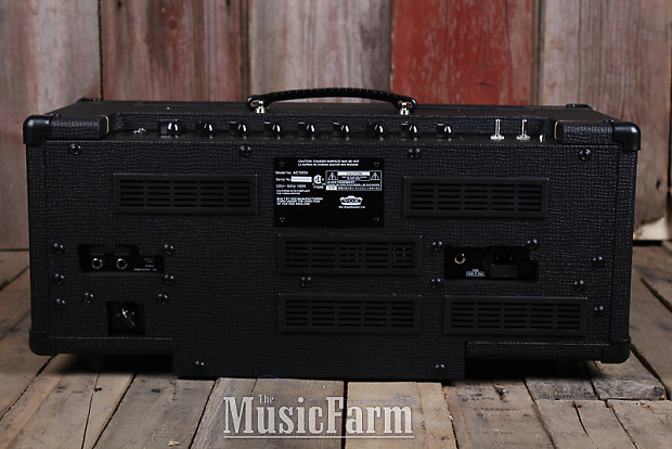 vox ac15ch custom tube electric guitar amplifier head 15 watt reverb. Black Bedroom Furniture Sets. Home Design Ideas