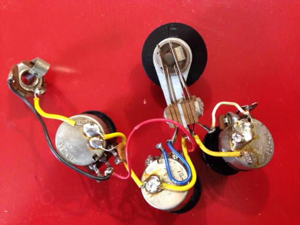 gibson flying v explorer sg 1984 wiring harness reverb. Black Bedroom Furniture Sets. Home Design Ideas