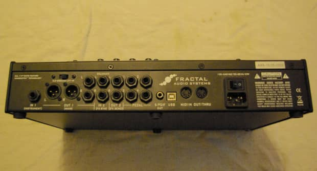 fractal audio ax8 used for one session like new reverb. Black Bedroom Furniture Sets. Home Design Ideas