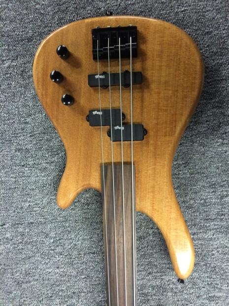 stagg bc300fl n fretless 4 string bass guitar reverb. Black Bedroom Furniture Sets. Home Design Ideas
