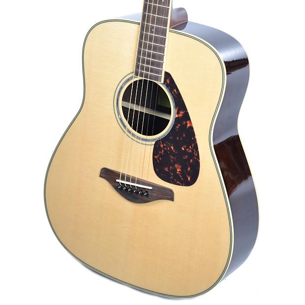 Yamaha fg830 folk acoustic natural reverb for Yamaha fg830 specs