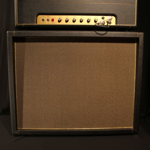 Kerry Wright 2 X 12 Guitar Speaker Cabinet Loaded W Reverb