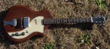 Supro Belmont 1959 Natural Vintage Player Guitar American Made image