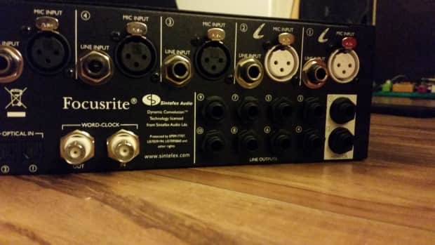 how to set up focusrite saffire 6 usb