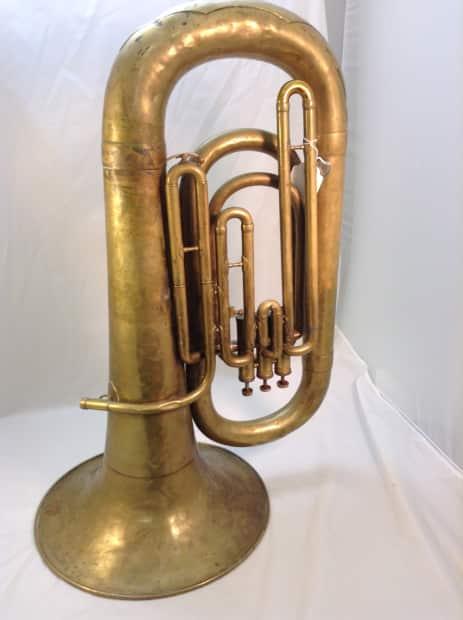 Couesnon Eb Tuba Raw Brass Reverb