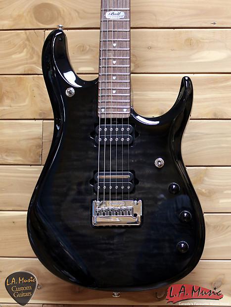 Ernie Ball Music John Petrucci BFR Black Burst Quilt
