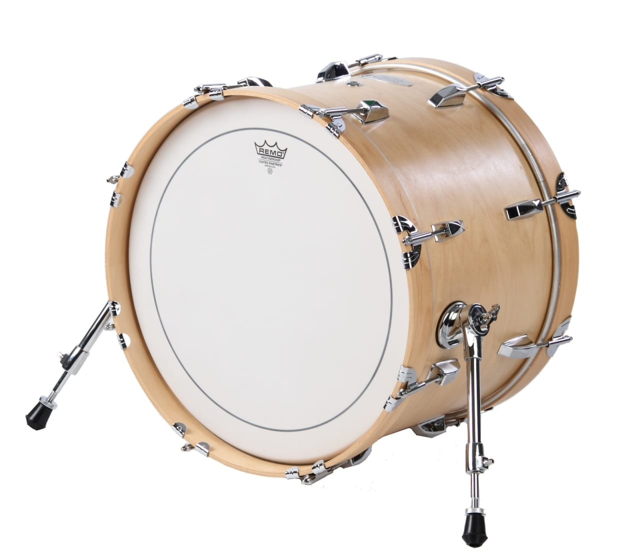 travel bass drum 12 x 18 by side kick drums maple finish reverb. Black Bedroom Furniture Sets. Home Design Ideas