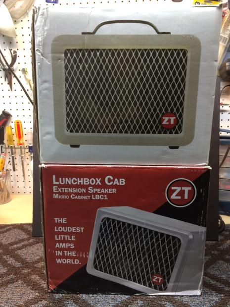 Zt Amplifiers Lunchbox Amp And Extension Cab Reverb