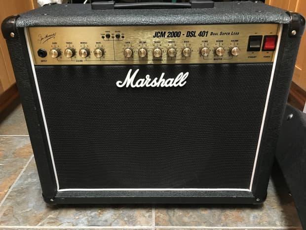 marshall jcm 2000 dsl 401 made in england tube combo guitar reverb. Black Bedroom Furniture Sets. Home Design Ideas