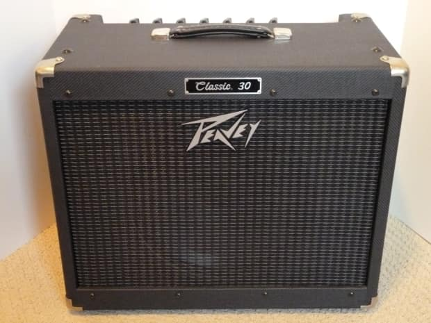 2004 peavey classic 30 amp black tweed w footswitch cover reverb. Black Bedroom Furniture Sets. Home Design Ideas