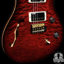 Paul Reed Smith Wood Library Custom 24 2016 Fire Red Burst (PRS) image