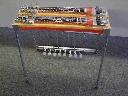 vintage sho bud professional d10 pedal steel guitar double reverb. Black Bedroom Furniture Sets. Home Design Ideas
