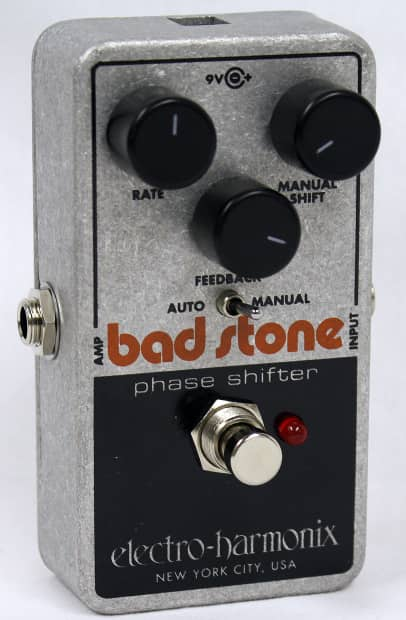 electro harmonix bad stone phase shifter brand new free reverb. Black Bedroom Furniture Sets. Home Design Ideas