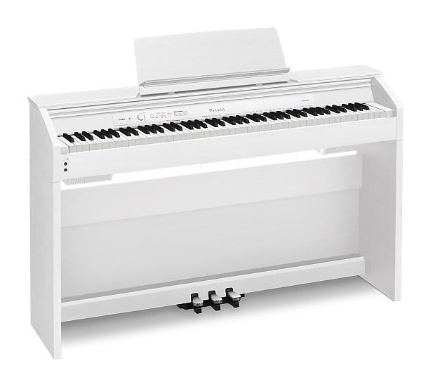 casio privia px 860 digital piano white w furniture bench reverb. Black Bedroom Furniture Sets. Home Design Ideas