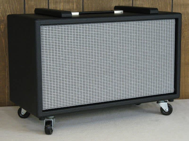 Amp Stand Storage Cabinet To Pair With Black Fender Guitar
