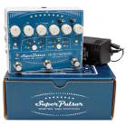 Electro Harmonix SUPER PULSAR Stereo Tap Tremolo Pedal w/ Power Supply image