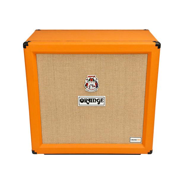 orange crush pro 4x12 closed back speaker cabinet reverb. Black Bedroom Furniture Sets. Home Design Ideas