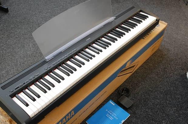 Yamaha p95 stage piano black inc manual box pedal for Yamaha dgx 660 manual