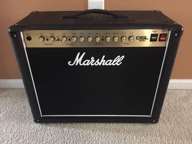 marshall dsl 40c tube amp reverb. Black Bedroom Furniture Sets. Home Design Ideas