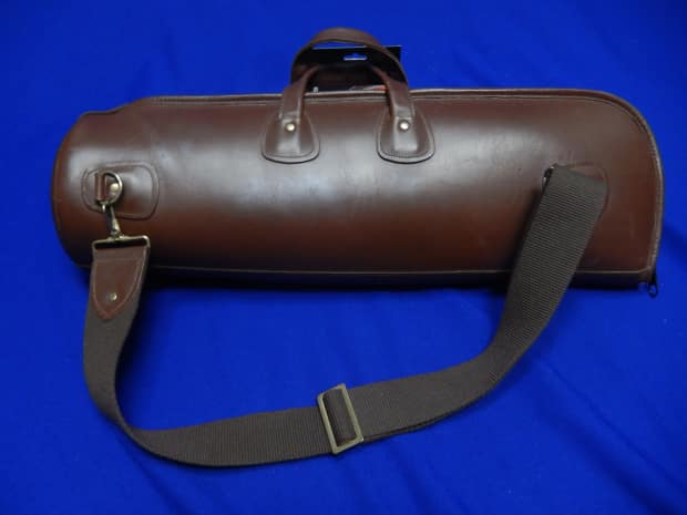 Reunion Blues Leather Trumpet Gig Bag Reverb