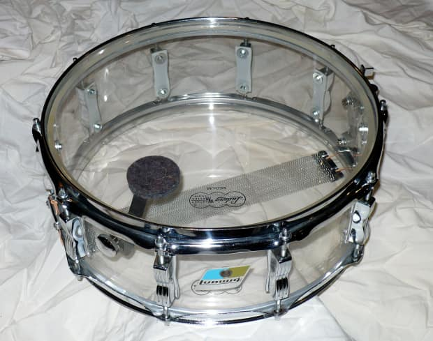 Petes Auto Sales >> Ludwig Vistalite Snare Drum Clear | Reverb