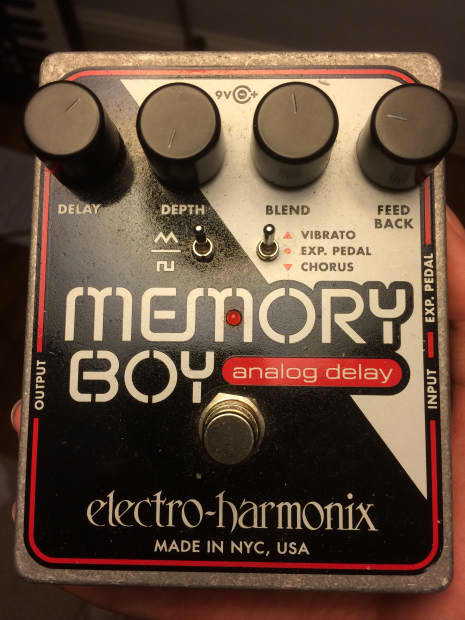 electro harmonix memory boy reverb. Black Bedroom Furniture Sets. Home Design Ideas