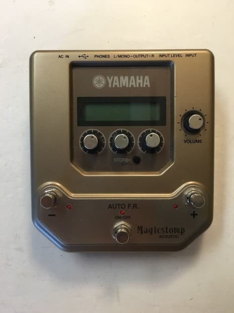Yamaha Magicstomp Acoustic Guitar Multi Effects Pedal