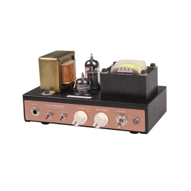 mooer audio little monster ac 5w boutique hand made tube reverb. Black Bedroom Furniture Sets. Home Design Ideas