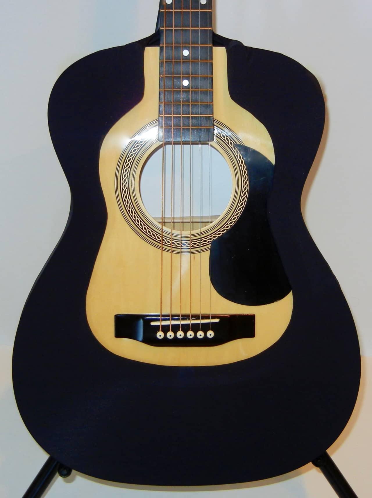 acoustic guitar cover vest black 000 om fits martin reverb. Black Bedroom Furniture Sets. Home Design Ideas