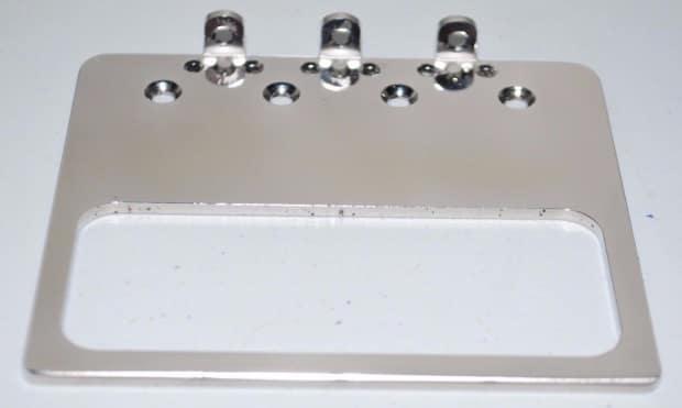 Gpg Usa Custom P 90 Stainless Steel Bridge Plate For