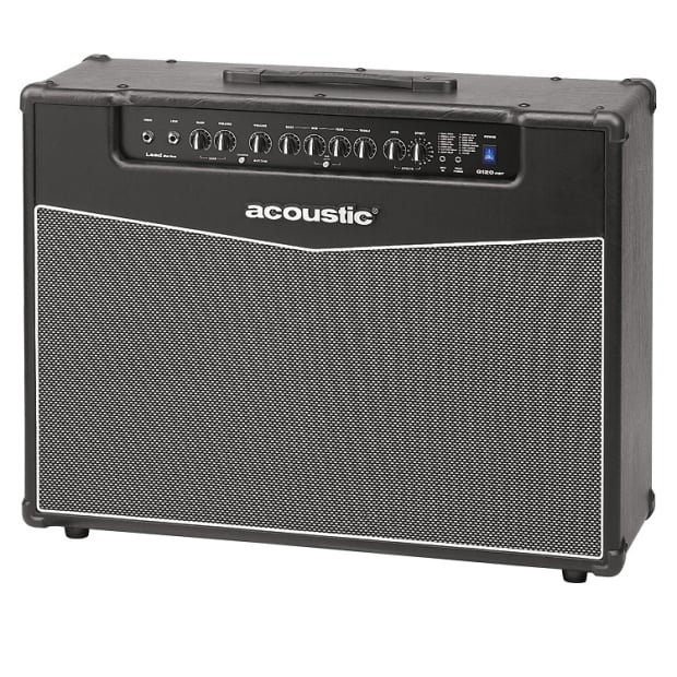 accoustic amplifier 120 w guitar amp combo w 16 dsp effects reverb. Black Bedroom Furniture Sets. Home Design Ideas