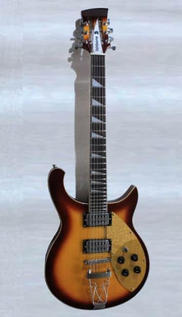 fishbone ftp burg 12 string electric solid body guitar 2013 reverb. Black Bedroom Furniture Sets. Home Design Ideas