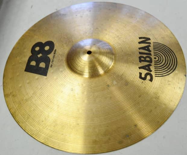 sabian b8 20 ride drum cymbal reverb. Black Bedroom Furniture Sets. Home Design Ideas
