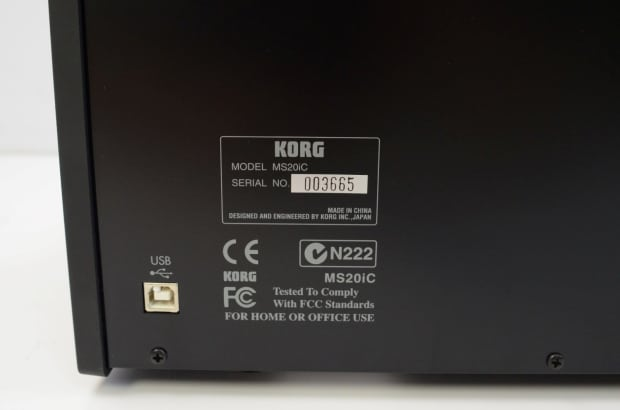 Korg ms20 Legacy Controller manual