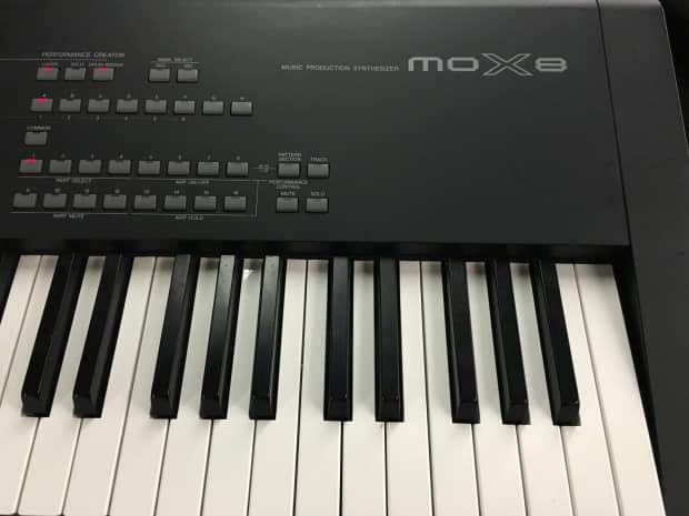 Yamaha mox8 synth keyboard reverb for Yamaha mox8 specs