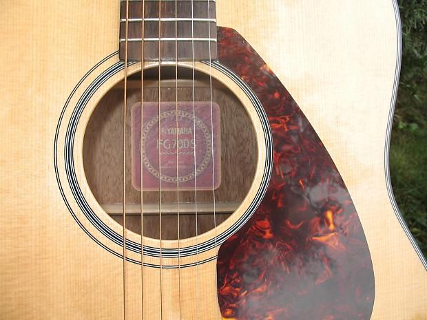 Yamaha fg700s 2015 acoustic guitar natural gibson fender for Yamaha fg700s dimensions