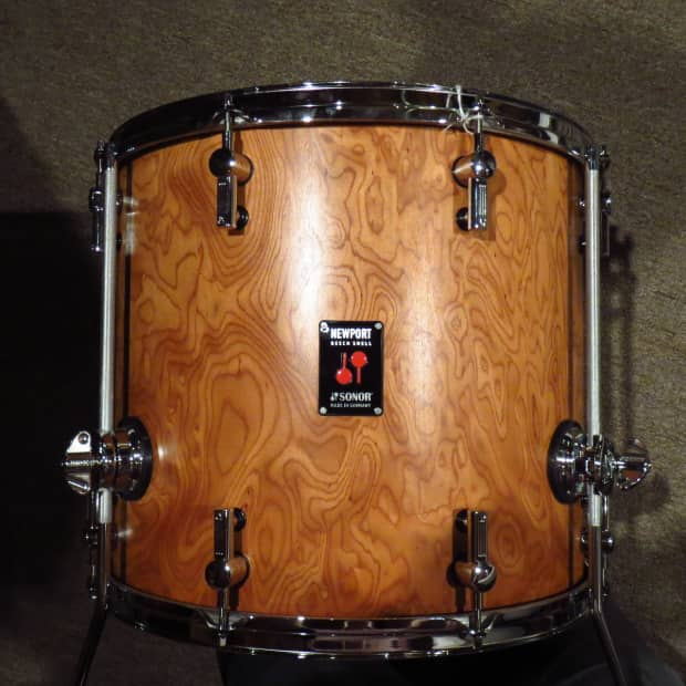 Sonor newport 16x14 floor tom 2012 walnut reverb for 16 x 12 floor tom