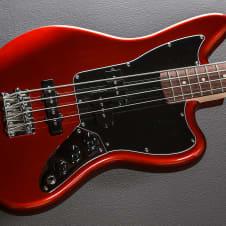 Fender Vintage Modified Jaguar Special Short Scale Bass 2016 Candy Apple Red image