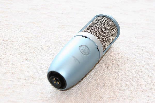 akg perception 220 metallic blue large diaphragm true condenser microphone reverb. Black Bedroom Furniture Sets. Home Design Ideas
