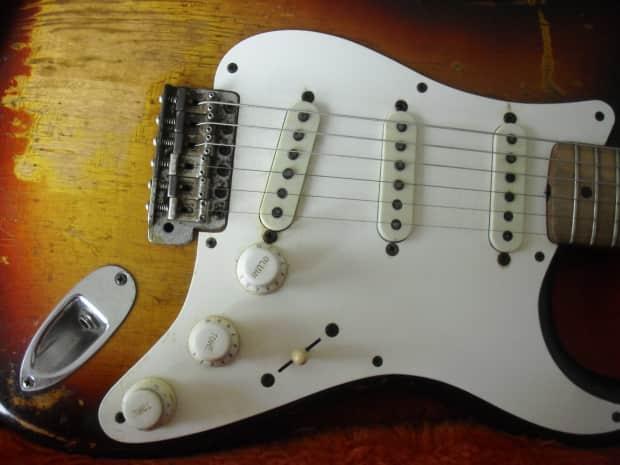 fender stratocaster volume tone controls 1954 ri white reverb. Black Bedroom Furniture Sets. Home Design Ideas