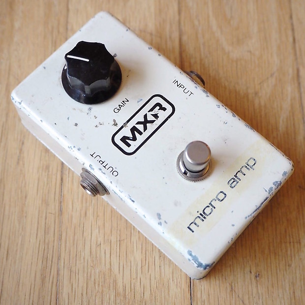 dating vintage mxr pedals This is the place for vintage guitar effects pedals and stomp boxes it made up for the ranks of mxr classics such as phase 90, dyna comp or micro amp.