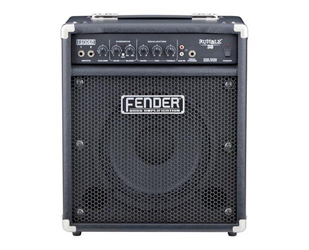fender rumble 30 30w 1x10 bass combo amp black reverb. Black Bedroom Furniture Sets. Home Design Ideas