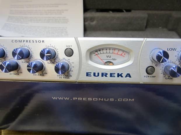 presonus eureka e series mic pre eq comp unit w 192 card reverb. Black Bedroom Furniture Sets. Home Design Ideas