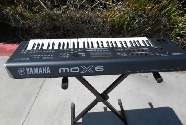 Yamaha mox6 keyboard reverb for Yamaha mox8 specs