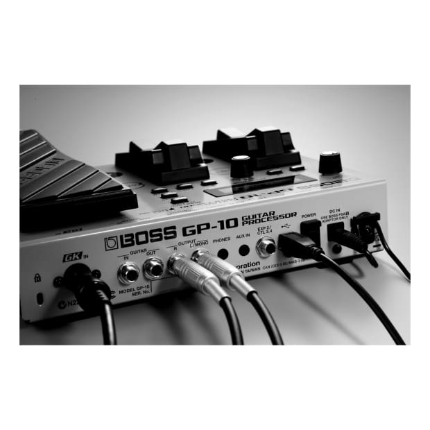 boss gp 10 guitar processor multi effects pedal with gk reverb. Black Bedroom Furniture Sets. Home Design Ideas
