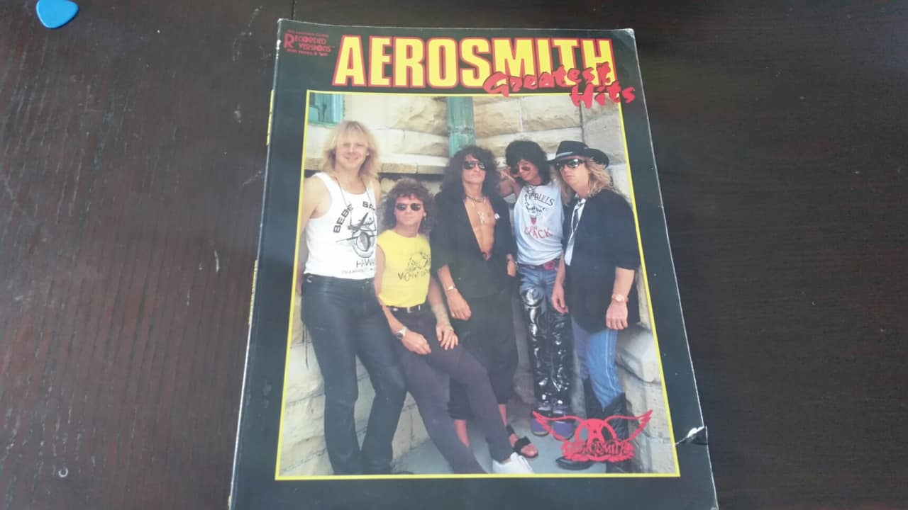 Aerosmith greatest hits 1988 black reverb for Biggest songs of 1988