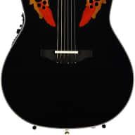 <p>Ovation Elite AX Contour Back - Black Demo</p>  for sale