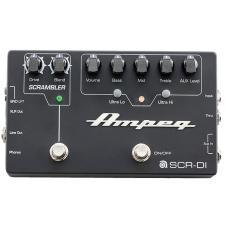 Ampeg SCR-DI Bass Preamp Direct Box Scrambler Overdrive EQ Guitar Effects Pedal image