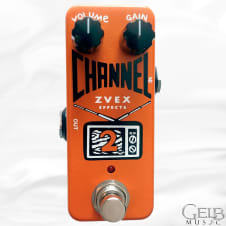Zvex Channel 2 Overdrive Effects Pedal - CHANNEL2 image