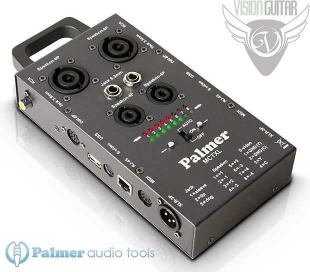 Data Cable Tester : New palmer audio tools ahmctxl cable tester